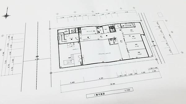 ほたるの里 瑞穂の1階に4室増床する設計図